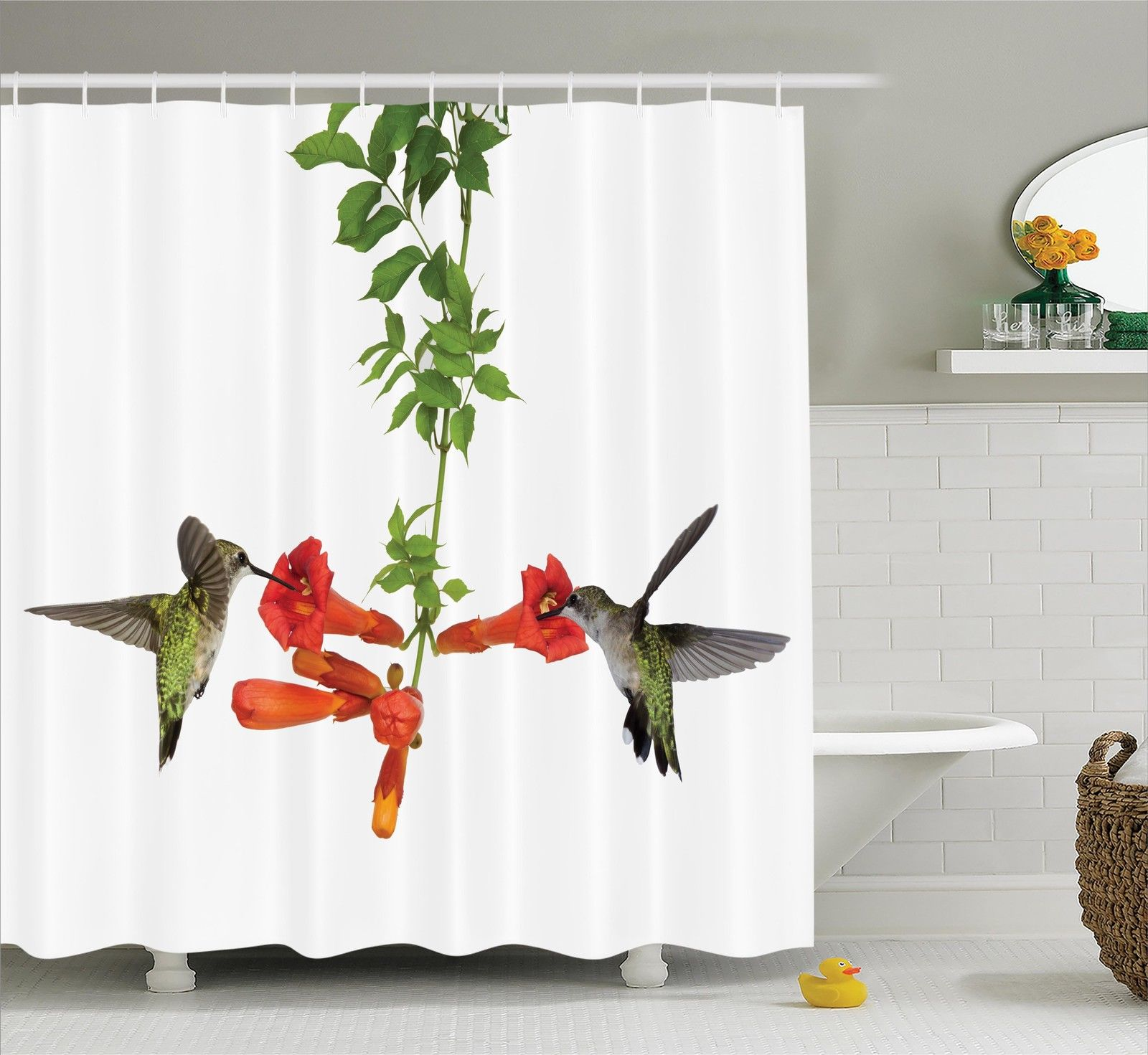 Hummingbirds Decorations Two, Hummingbird Bathroom Accessories