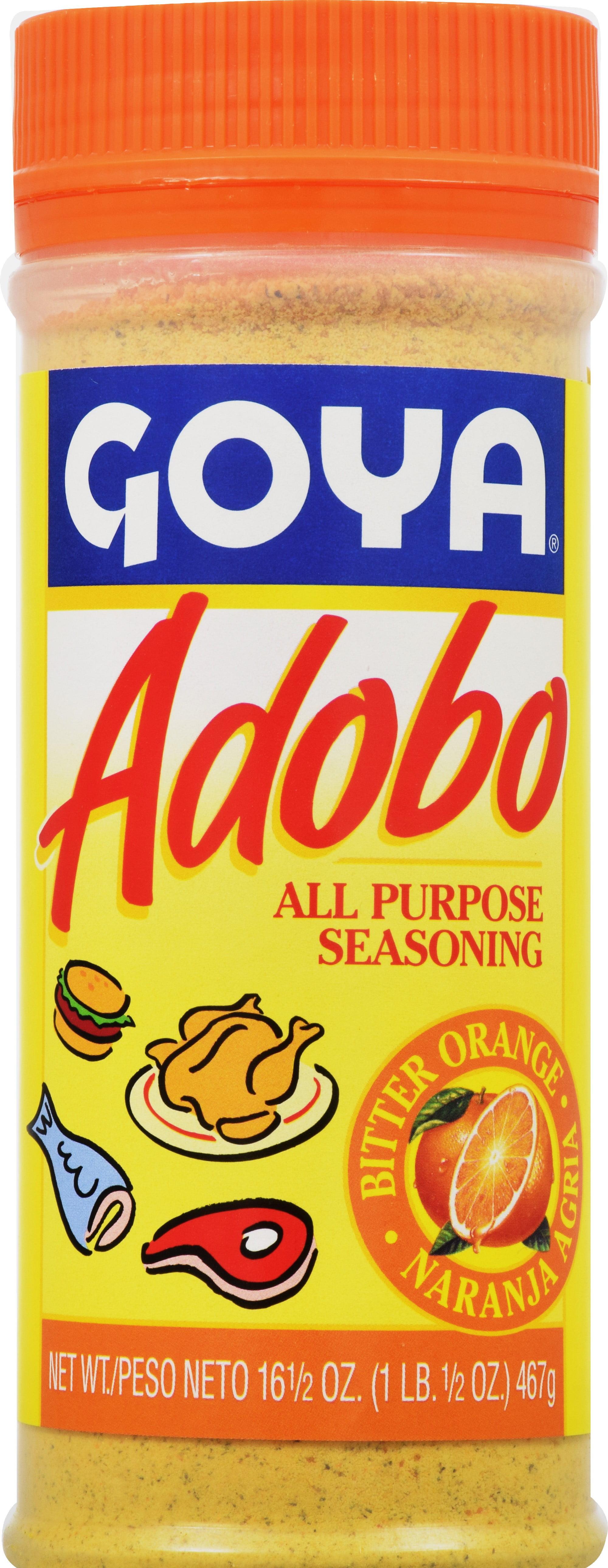 Goya Adobo Seasoning with Naranja, 16.5 Oz by Goya