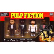 NECA Pulp Fiction Geomes The Cast Mini Figure 4-Pack