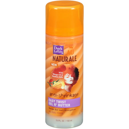 SoftSheen-Carson Dark and Lovely Au Naturale Anti-Shrinkage Easy Twist Gel N' Butter, 5 fl