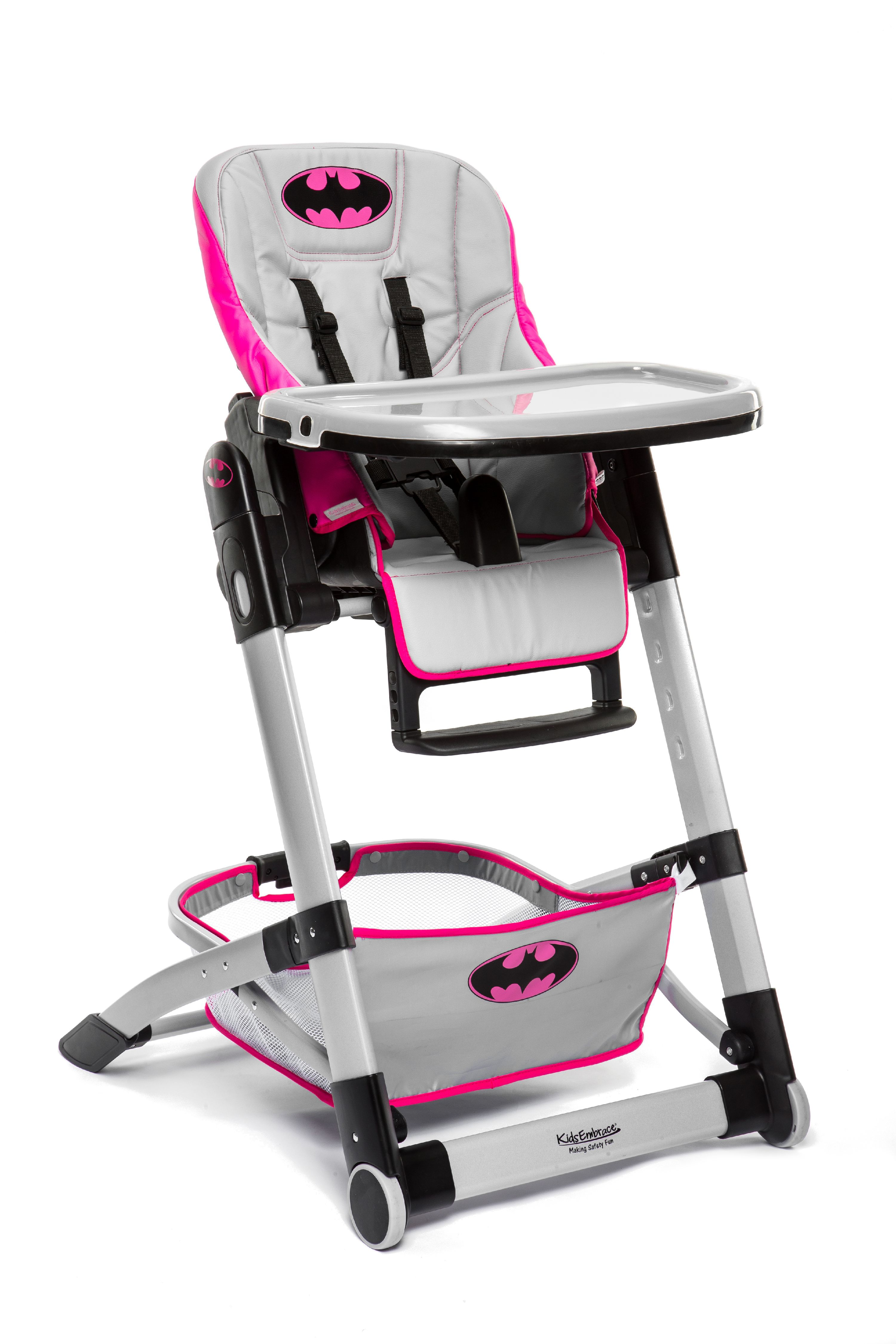 KidsEmbrace Adjustable Folding High Chair, DC Comics Batman by KidsEmbrace
