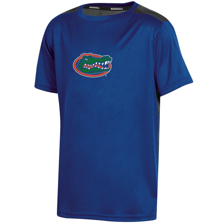 Youth Russell Royal Florida Gators Color Block T-Shirt