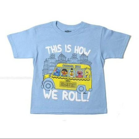 Big Bird And Grover (Short Sleeve Boys Graphic T-Shirt (Toddler)
