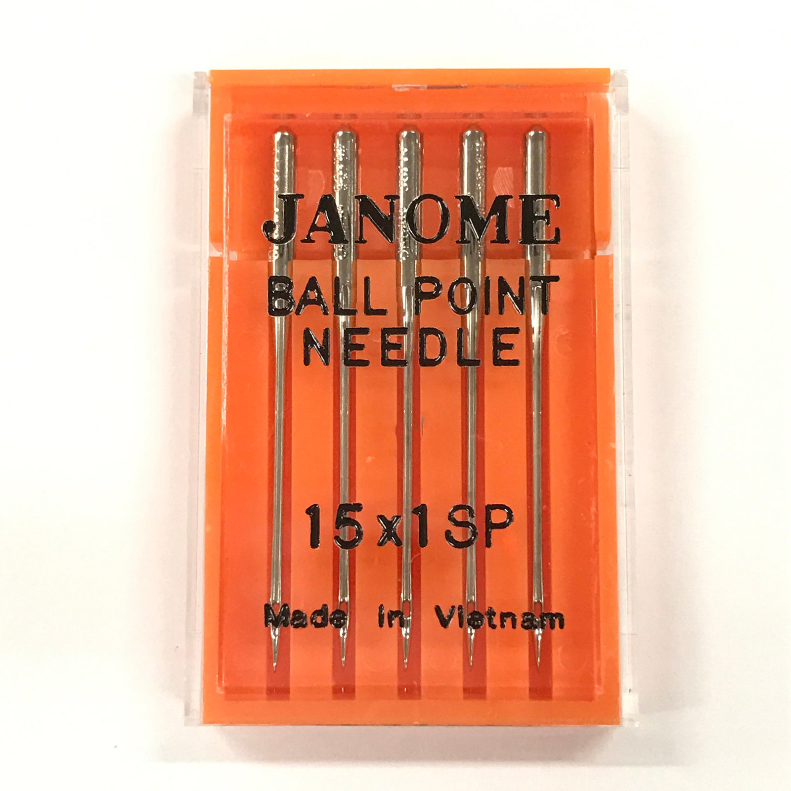 Janome Red Tip 3 x 5 Needle Packs Size 14 Size 90//14