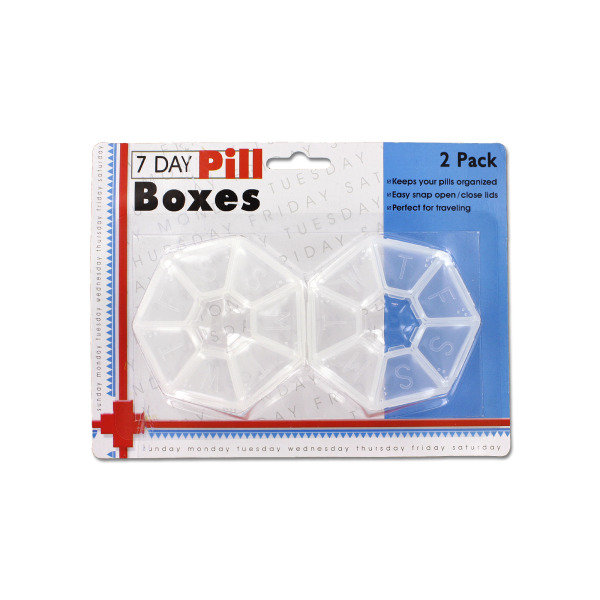7-Day Pill Box Set (Pack Of 24)