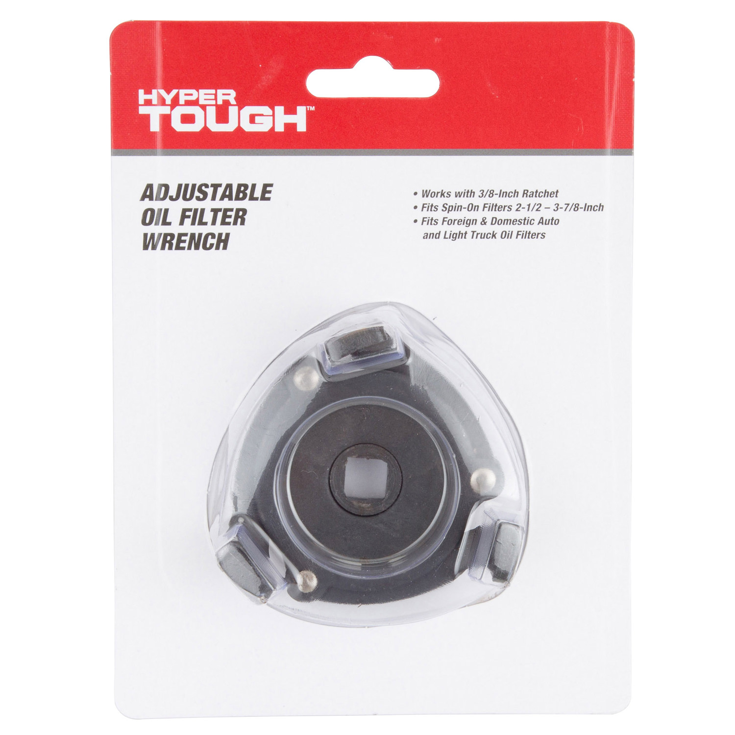 Hyper Tough Adjustable Oil Filter Wrench Truck Fuel