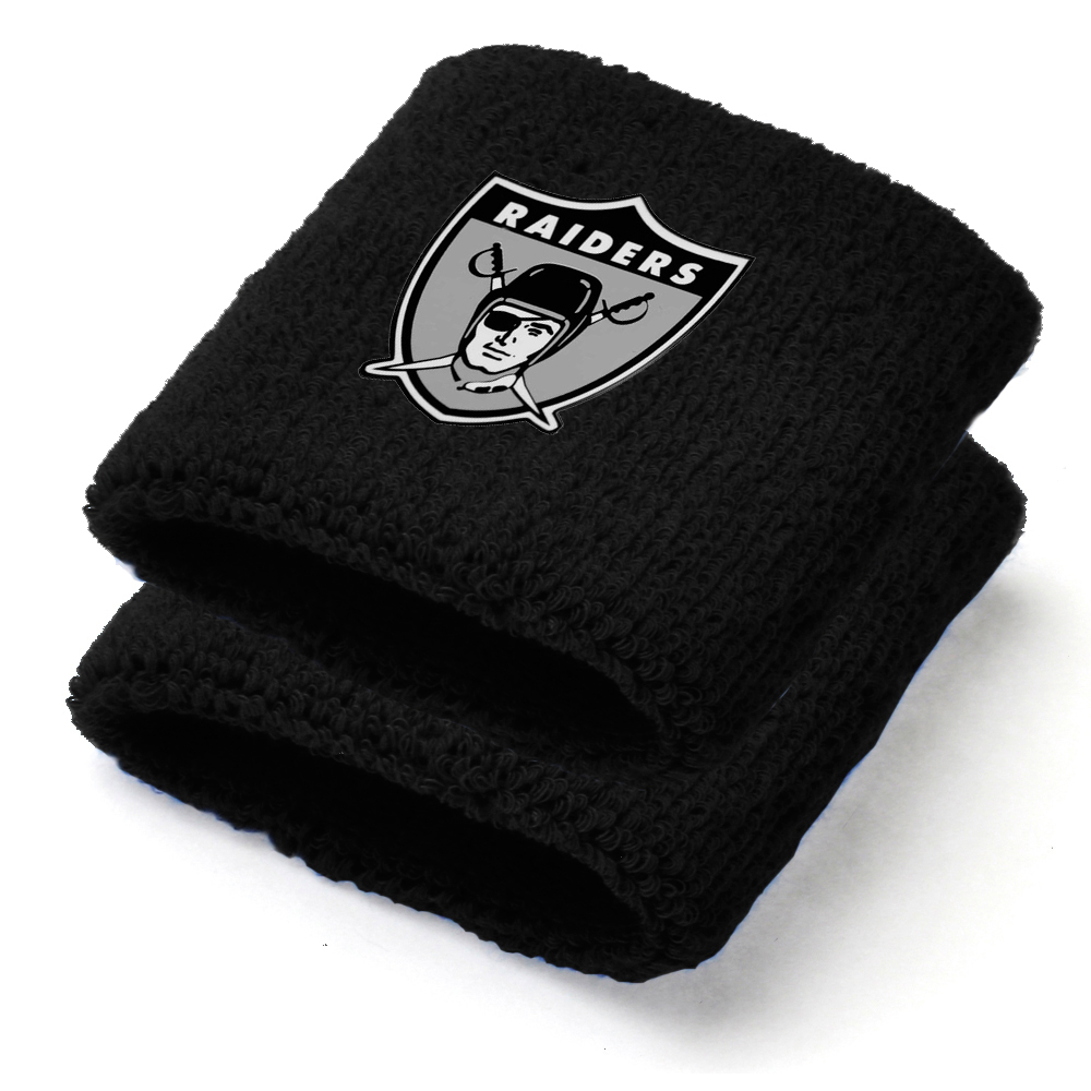 Oakland Raiders NFL Youth Wristbands