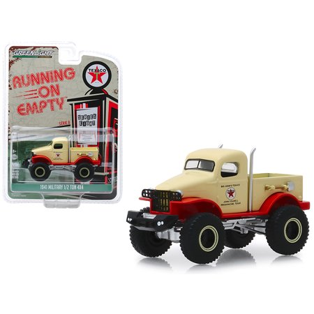 1941 Military 1/2 Ton 4x4 Pickup Truck Cream