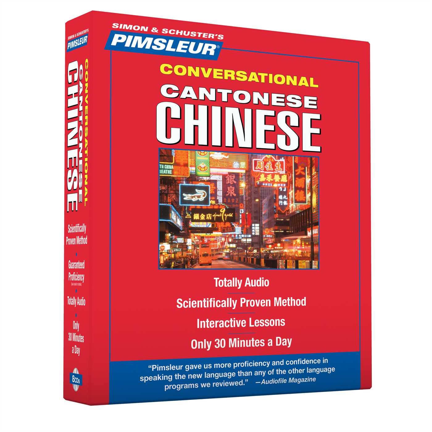 Pimsleur Chinese (Cantonese) Conversational Course - Level 1 Lessons 1-16 CD : Learn to Speak and Understand Cantonese Chinese with Pimsleur Language Programs
