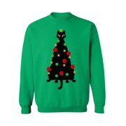 Awkward Styles Ugly Xmas Sweatshirt Christmas Cat Sweater