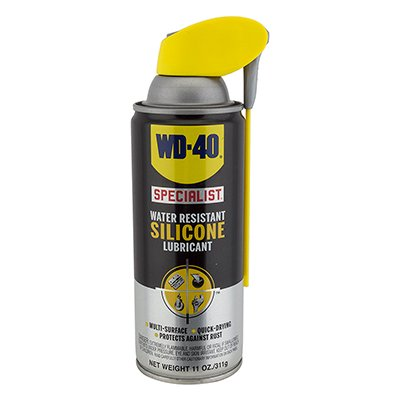 wd 40 bike lube wd40 specialist silicone 11oz aerosol. Black Bedroom Furniture Sets. Home Design Ideas