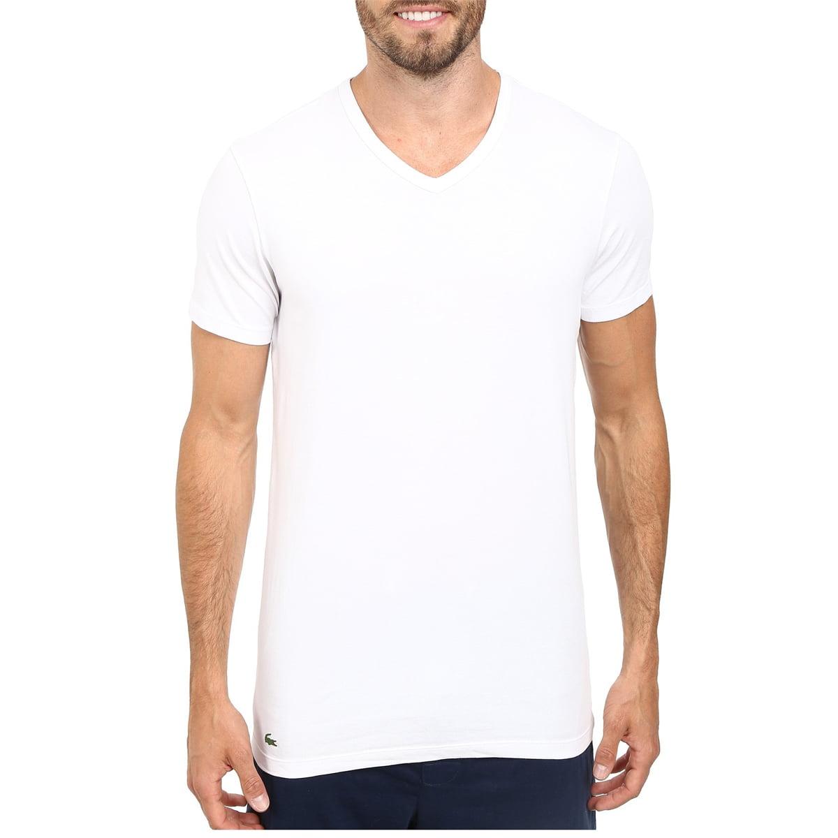 taniej najnowszy piękno Lacoste Men 2 Pack V-Neck T-Shirt