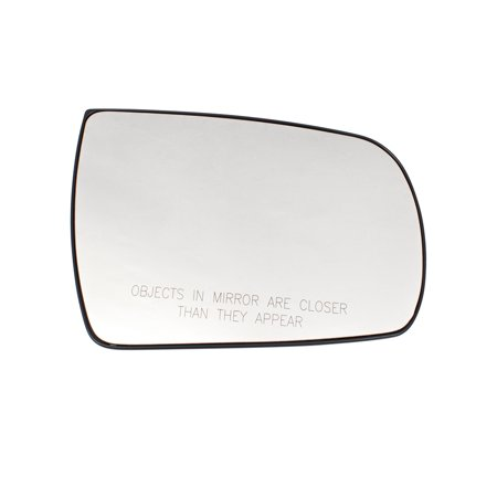 BROCK Passengers Side View Mirror Glass & Base Heated Right Replacement for 11-15 Kia Sorento 876211U100