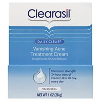 Clearasil Daily Clear Vanishing Cream, 1 oz (Pack of 3)