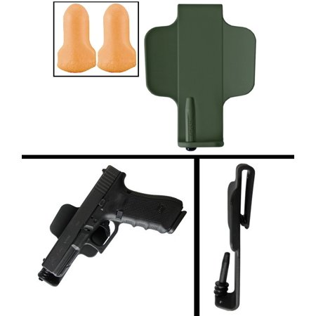 IMI Defense-Z5001 OD Olive Drab Green Ruger SR9 Full/Compact  9mm/ 40/ 357/ 38 ITP Inside Pants Waist Concealed Carry Holster + Ultimate  Arms Gear