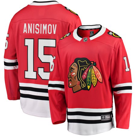 Artem Anisimov Chicago Blackhawks Fanatics Branded Youth Breakaway Player Jersey -