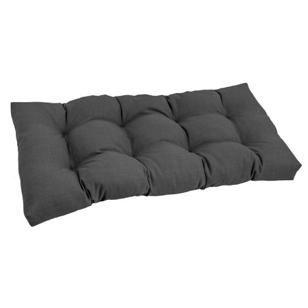 blazing needles all weather 42 inch bench cushion. Black Bedroom Furniture Sets. Home Design Ideas