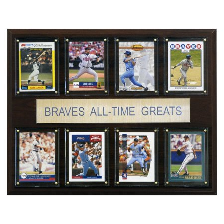 - C&I Collectables MLB 12x15 Atlanta Braves All-Time Greats Plaque