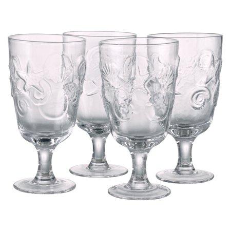 Artland Inc. Shells All Purpose Glasses - Set of 4