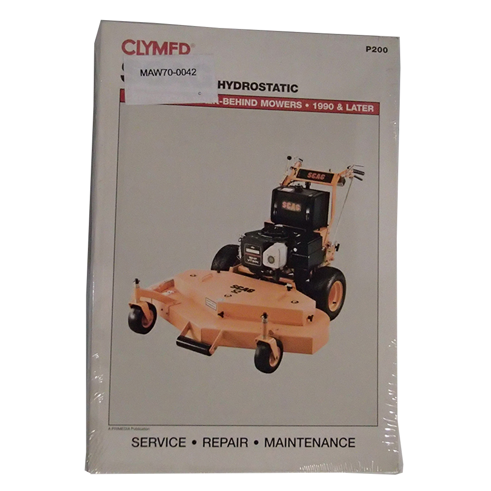 P200 Service Manual For Scag Hydrostatic Commercial Walk Behind Lawn Wiring Diagram Mower