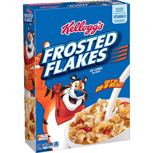 Kellogg's Frosted Flakes Cereal, 15 oz
