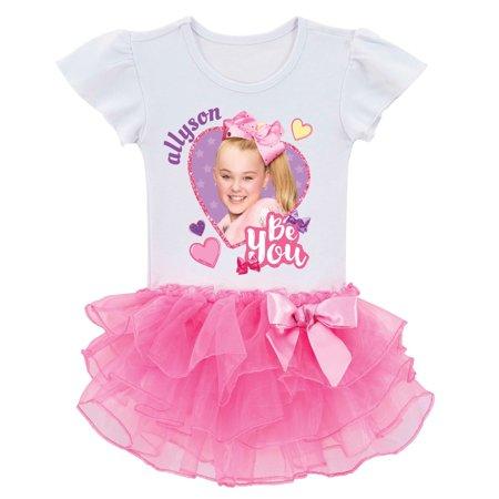 JoJo Siwa Personalized Pink Tutu Tee (Personalized Souvenirs)