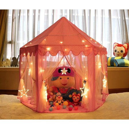 Kids Play Tent Fairy Playhouse Girl Princess Castle Indoor Outdoor