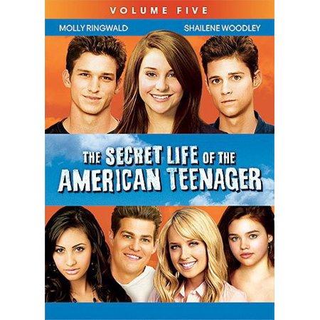 the secret life of the american teenager volume 5 dvd. Black Bedroom Furniture Sets. Home Design Ideas