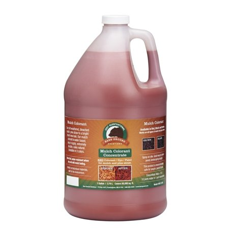 One Gallon Red Concentrated Mulch Colorant (Red Mulching Plastic)