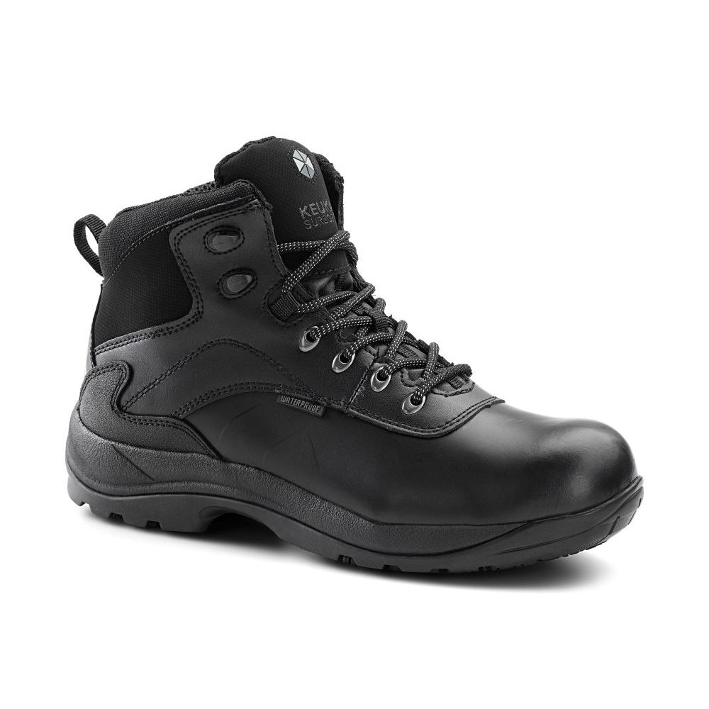 Keuka SureGrip Mens Engineer Steel Toe Slip Resistant Wor...