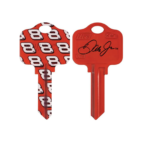 Dale Earnhardt Jr Schlage SC1 House Key NASCAR Keys