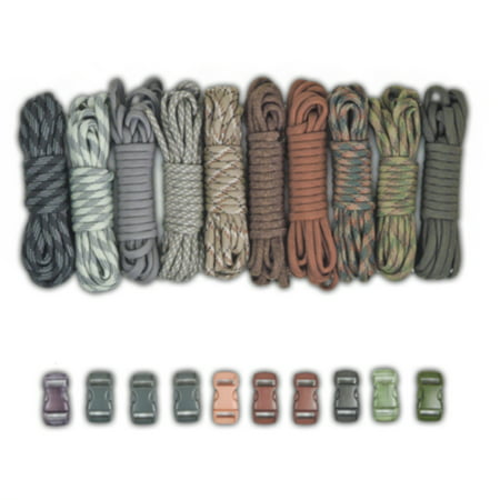 Paracord Planet's Bracelet Crafting Kits with Buckles](Paracord Bracelet Kit)