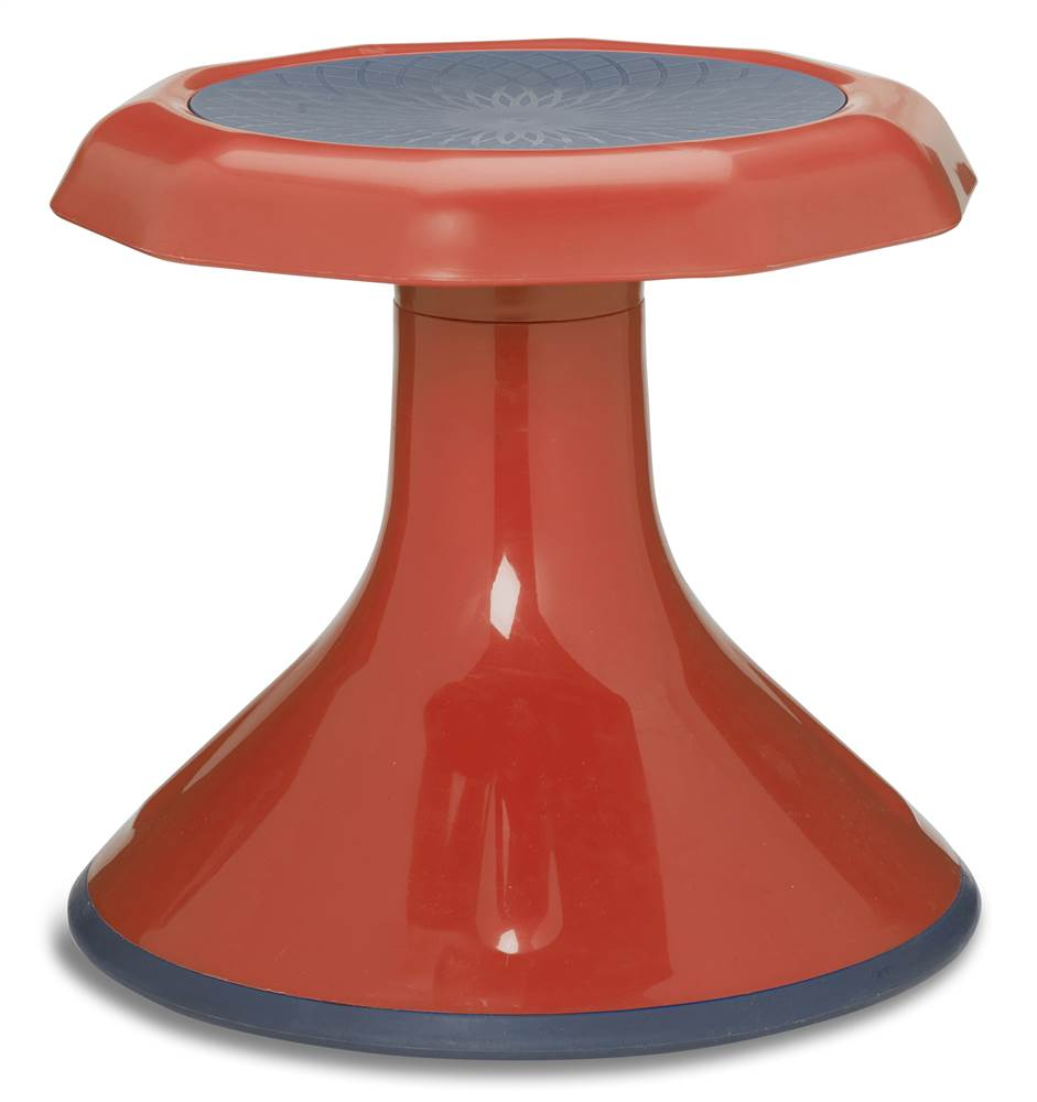 Ace Stool in Red (13 in. Dia. x 12 in. H (4.75 lbs.))
