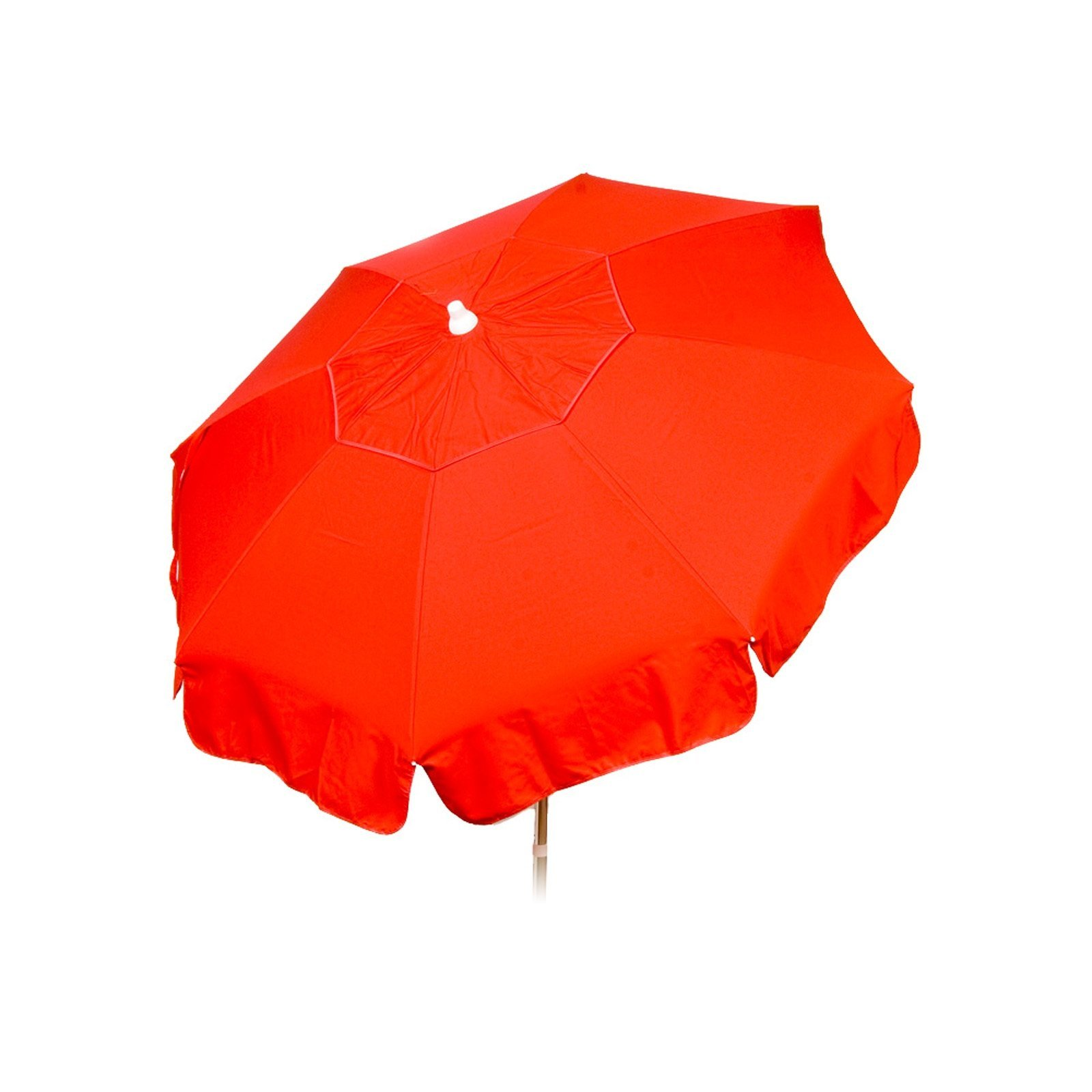 6ft Italian Market Tilt Umbrella Home Patio Canopy Sun Shelter, Red -
