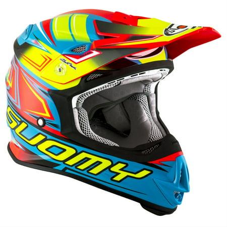 Suomy MX Jump Start Cyan Fuxia Helmet