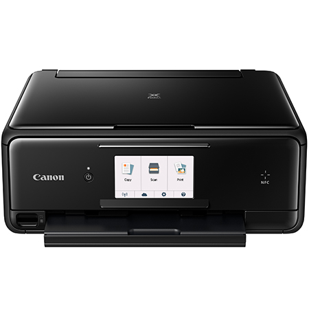 Canon PIXMA TS8020 Wireless All-in-One Inkjet Printer, Black