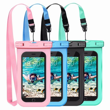Mpow Waterproof Case, New Type PVC Waterproof Phone Pouch, Universal Dry Bag for iPhone X/8/8 Plus/7/7 Plus, Galaxy/Google Pixel/LG/HTC -