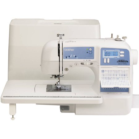 Brother Sewing Limited Edition Project Runway Sewing Machine With 100 Built In Stitches And Quilting Table