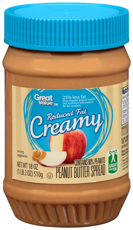 Jiff Reduced Fat Peanut Butter 62