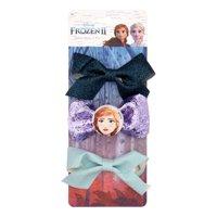Disney Frozen 2 Anna Glitter Hair Bow Clips, 3 pack