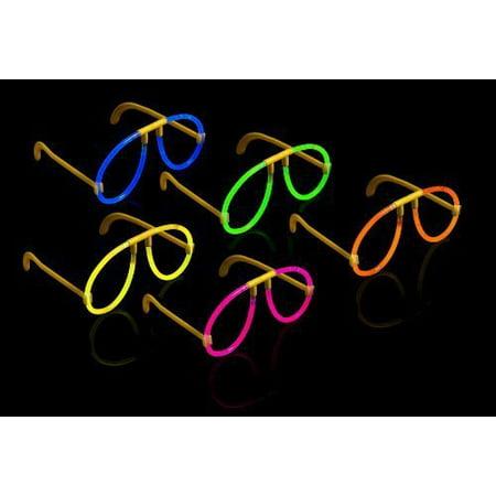 Milliard (50) Glow Stick Style Glow Glasses: 8