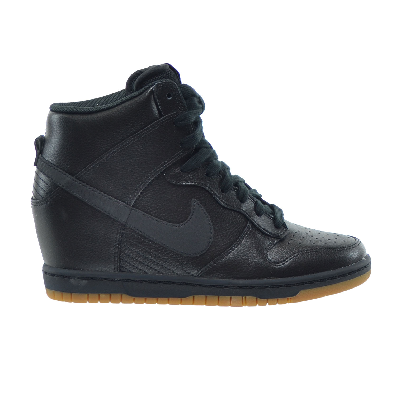ac2f6b7caef4 ... where can i buy nike dunk sky hi essential womens shoes black gum  medium brown dark