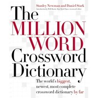 The Million Word Crossword Dictionary (Hardcover)