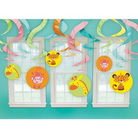 Fisher Price Baby Shower Swirl Decorations (Each) - Party - Fisher Price Baby Shower Decorations