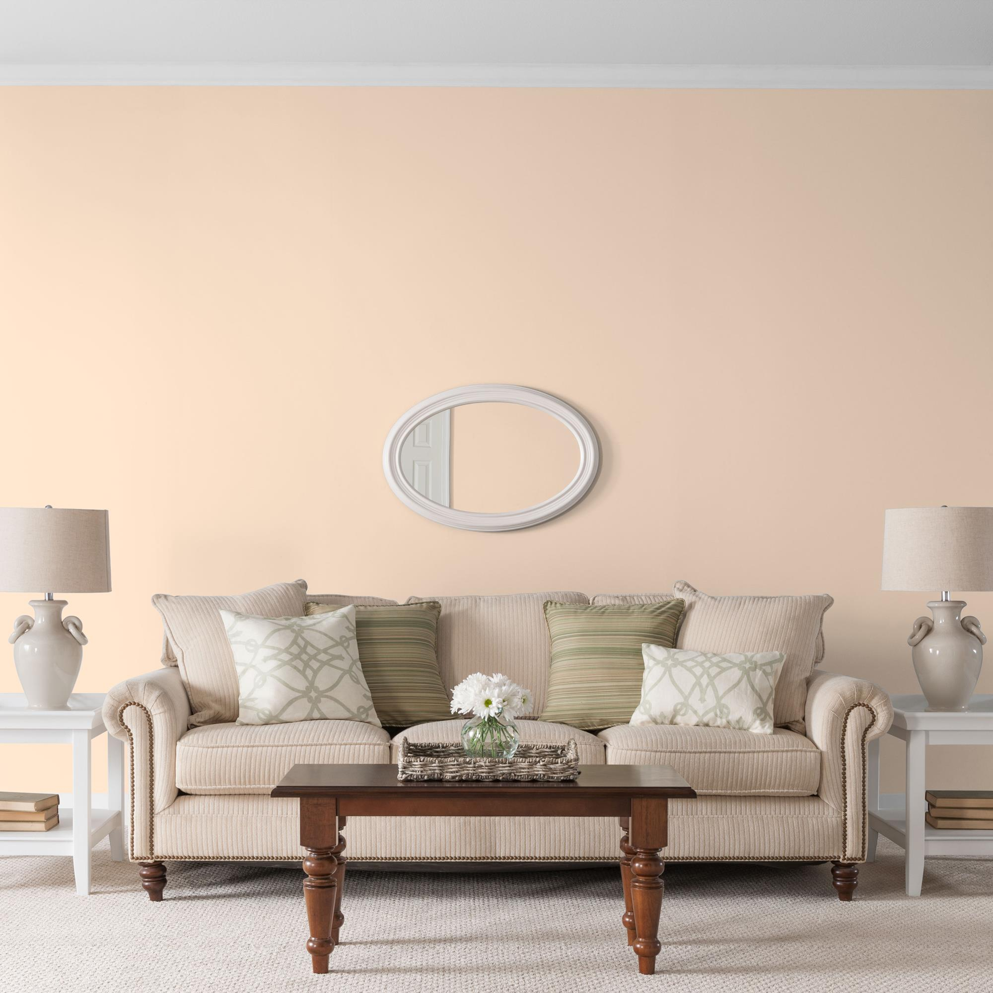 Glidden High Endurance, Interior Paint And Primer, Pavilion Peach, #00YY 71/