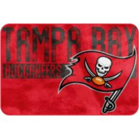 "NFL Tampa Bay Buccaneers 20"" x 30"" ""Worn Out"" Mat, 1 Each"