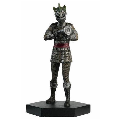"Doctor Who 4"" Resin Silurian Warrior Cold Blood Figure"