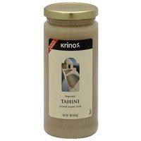 Krinos Tahini Ground Sesame Seeds, 16 oz, (Pack of 6)