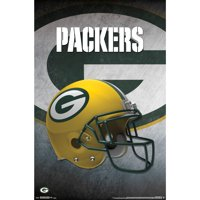 Green Bay Packers Helmet 22'' x 34'' Logo Poster - No Size