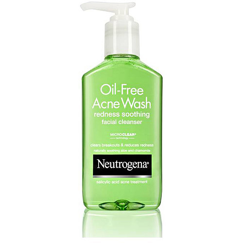 Neutrogena Redness Soothing Facial Cleanser Oil-Free Acne Wash -  6 Fl Oz